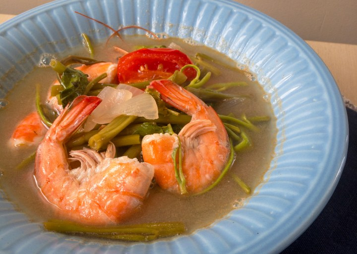 Sinigang na Hipon (Shrimp in Tamarind Broth)