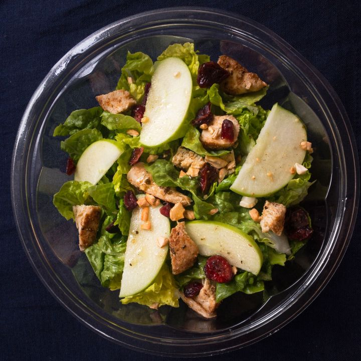 Refreshing Chicken, Apple & Cranberry Salad
