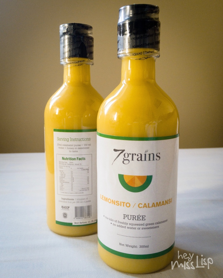 Calamansi Puree from 7Grains