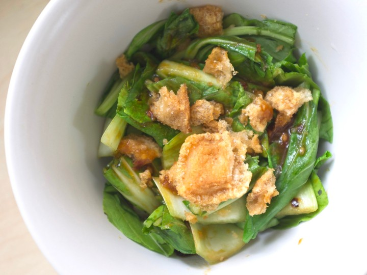 Spicy Hoisin Bokchoy