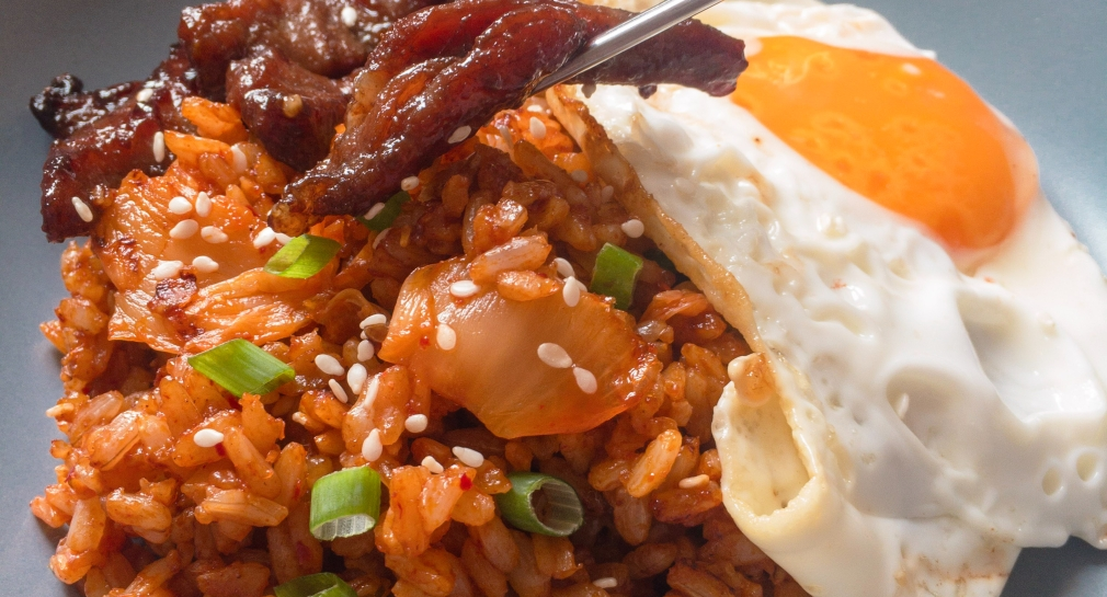 Kimchi Fried Rice + Korean Beef + Egg = Tapkilog Your Korean Tapsilog!